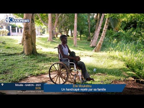 """GABON / SOS : Elie Mouketou """"Je n'ai pas choisi d'être handicapé, c'est Dieu qui l'a voulu..."""""""