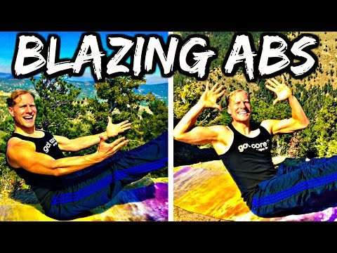 Sean Vigue's BLAZING ABS WORKOUT - 12 Minute Core Class