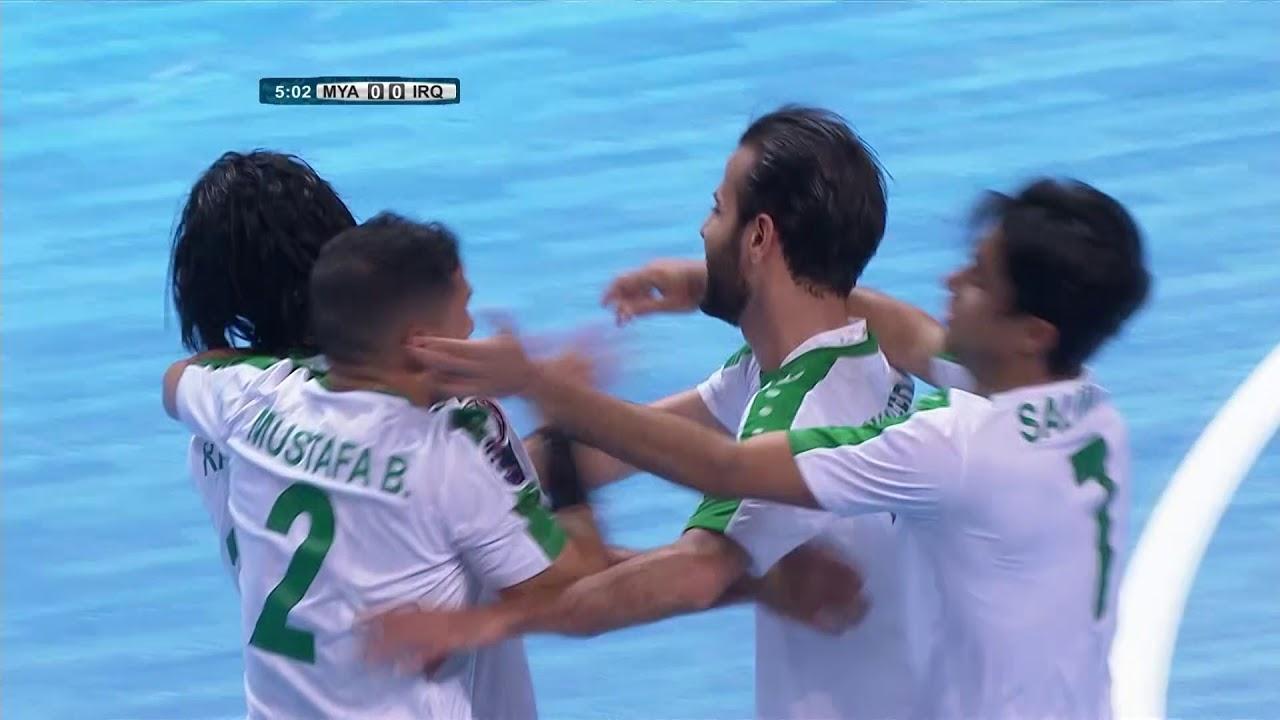 Video: Futsal Myanmar vs Futsal Iraq