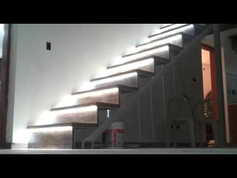 Luces para escalera youtube - Luces en escaleras ...