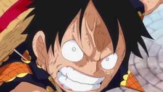 Zoro-Luffy vs Fujitora. Purple tiger Fujitora