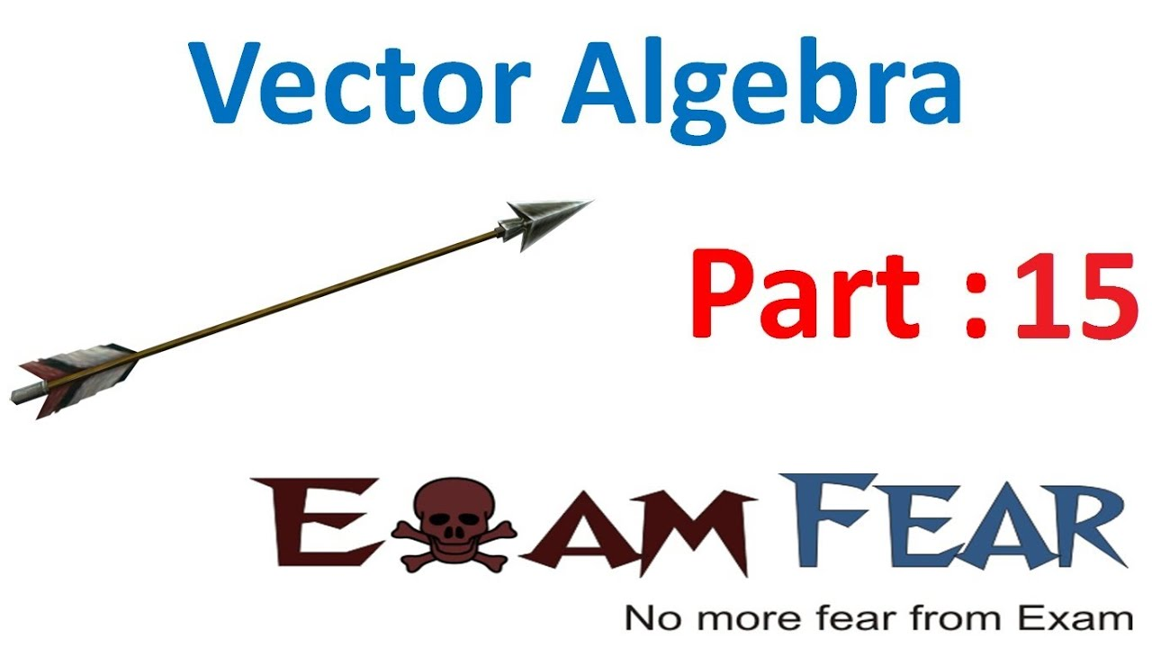 Maths Vector Algebra part 15 (Example: Section formula) CBSE class 12  Mathematics XII