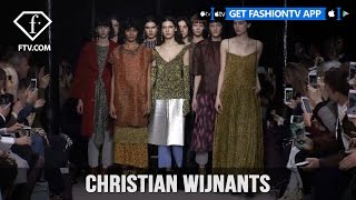 Paris Fashion Week Fall/WItner 2017-18 -  Christian Wijnants | FTV.com