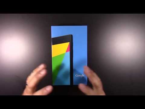 NEXUS 7 (2013) 32 GB WIFI - Unboxing and First Look Part 1