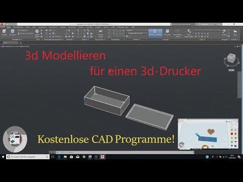 CAD Programme für 3D-Drucker