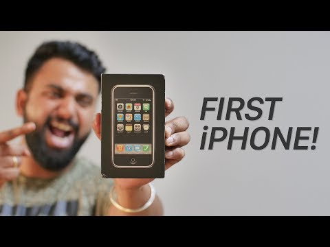 First iPhone Unboxing, After 12 Years!