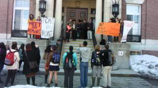 April 2nd, 2014 Dartmouth Freedom Budget Protest (1/3)