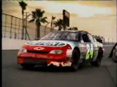 Nascar Driver Numbers >> 1990's Pepsi Jeff Gordon NASCAR commercial - YouTube