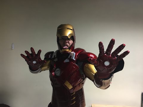 Wearable Iron Man Mark 7 suit by Killerbody