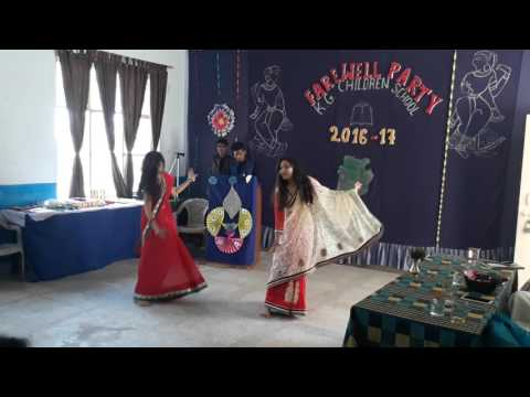 mix song dance girl farewell party