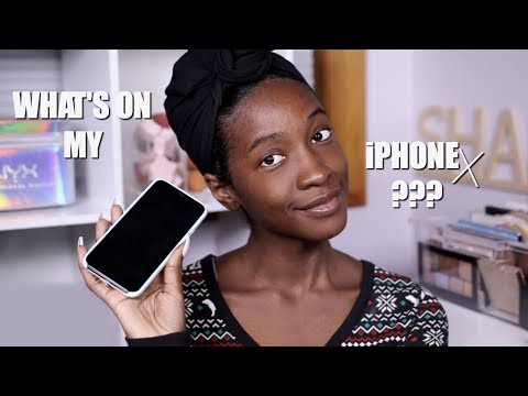 What's On My iPhone X?! + Some Phone Features