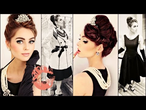Breakfast At Tiffany's Makeup, Hair & Style Tutorial | Jackie Wyers