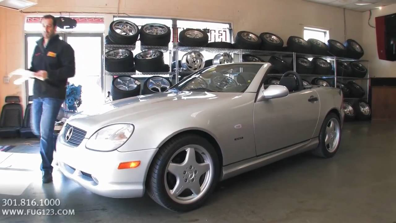 1999 Mercedes Benz Slk Hard Top Convertible For Sale With