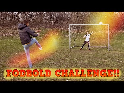 FODBOLD CHALLENGE MED DANIEL ER TILBAGE!!