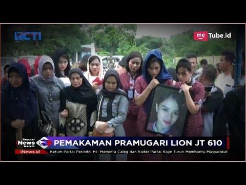 Begini Suasana Haru Proses Pemakaman Pramugari Lion Air Mery Yulyanda - SIM 09/11