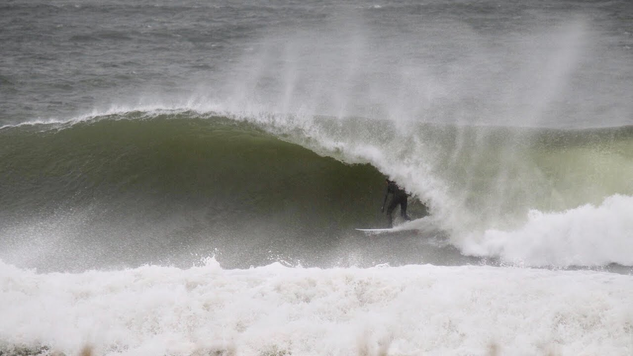 Best & Biggest Swell of the Year in New Jersey!