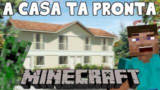 MINECRAFT SURVIVAL - A casa ficou PRONTA!!!!