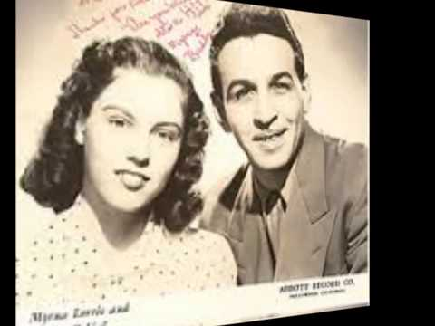 Myrna Lorrie and Buddy DeVal - Are You Mine (ORIGINAL) - (c.1954).