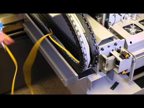 Installing a Fiber Optic Cable