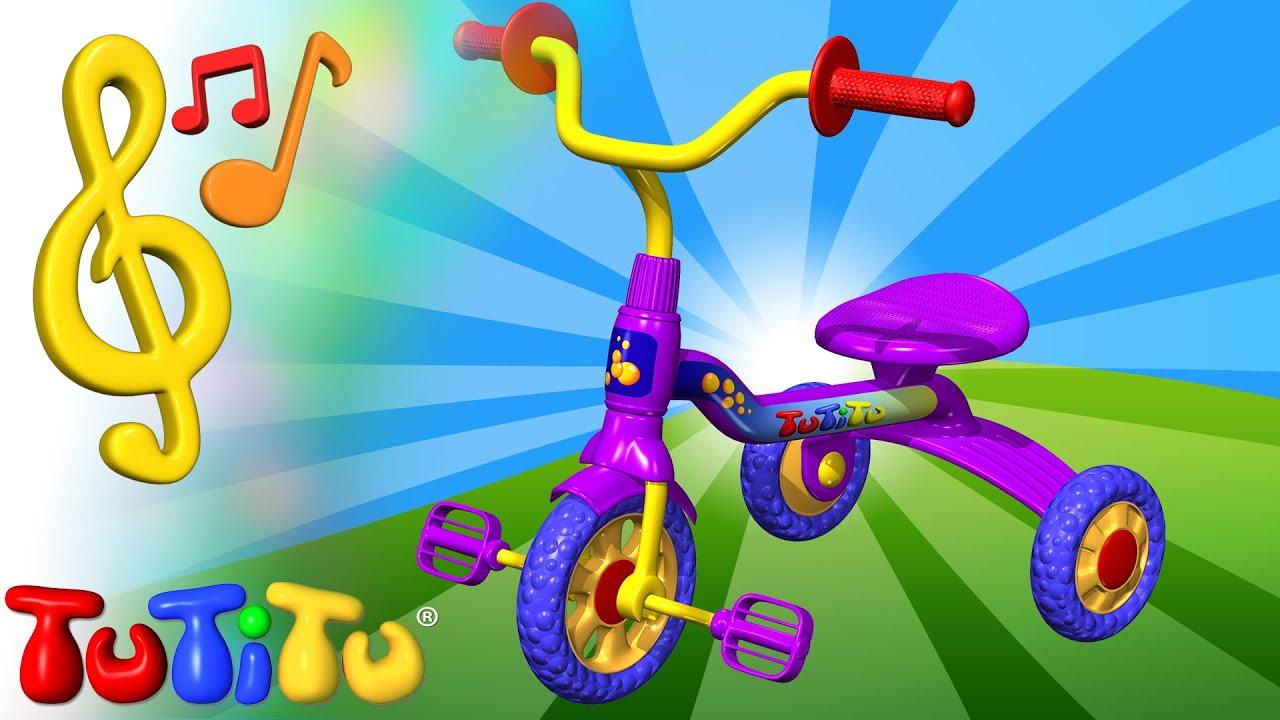Spielzeug Auf Englisch : tutitu spielzeug und lieder auf englisch dreirad englisch lernen f r kinder youtube ~ Orissabook.com Haus und Dekorationen