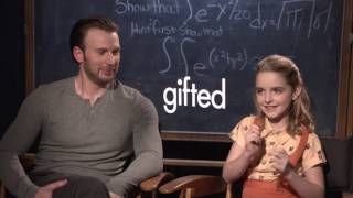 Chris Evans & Mckenna Grace | GIFTED | with Scott Carty