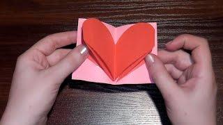 Как сделать красивое признание (открытку) на День Валентина(Как сделать красивое признание (открытку) на День Валентина В этом видео мы научимся делать красивую откры..., 2015-01-27T13:03:12.000Z)