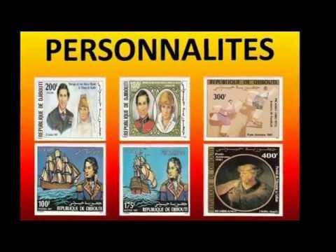 timbres de la poste de djibouti