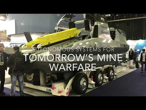 Autonomous systems for the tomorrow's mine warfare