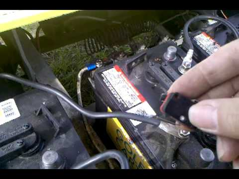 Battery Wiring Diagram For Yamaha Golf Cart Rtd Solenoid Problem Just Clicking Solved Club Car 1987 36v - Youtube