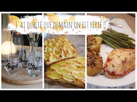 vlog-du-10-novembre-:-grilles-au-pommes,-poulet-pané-gratiné,-mes-verres-nominatifs