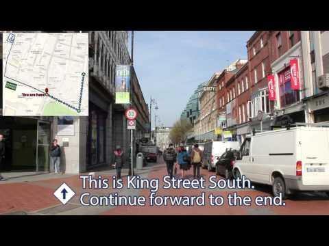 Dawson Street to ATC Dublin Navigation Guide