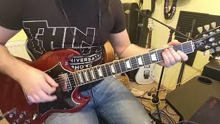 Rejection ACDC Guitar Cover HD #PWRUP #Rejection