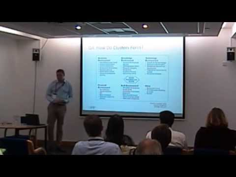 UK 'Clusters' Policy - Tom Hitchings presentation at BIS (2015)