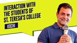 This video summarises the student interaction we had at St Teresa's College, Cochin.