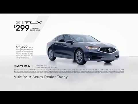 Acura Season of Performance Event TV Commercial, 'Deck the Halls  2018 TLX'
