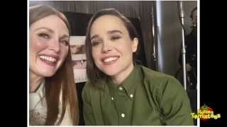 Freeheld Interview: Julianne Moore & Ellen Page Take A Selfie