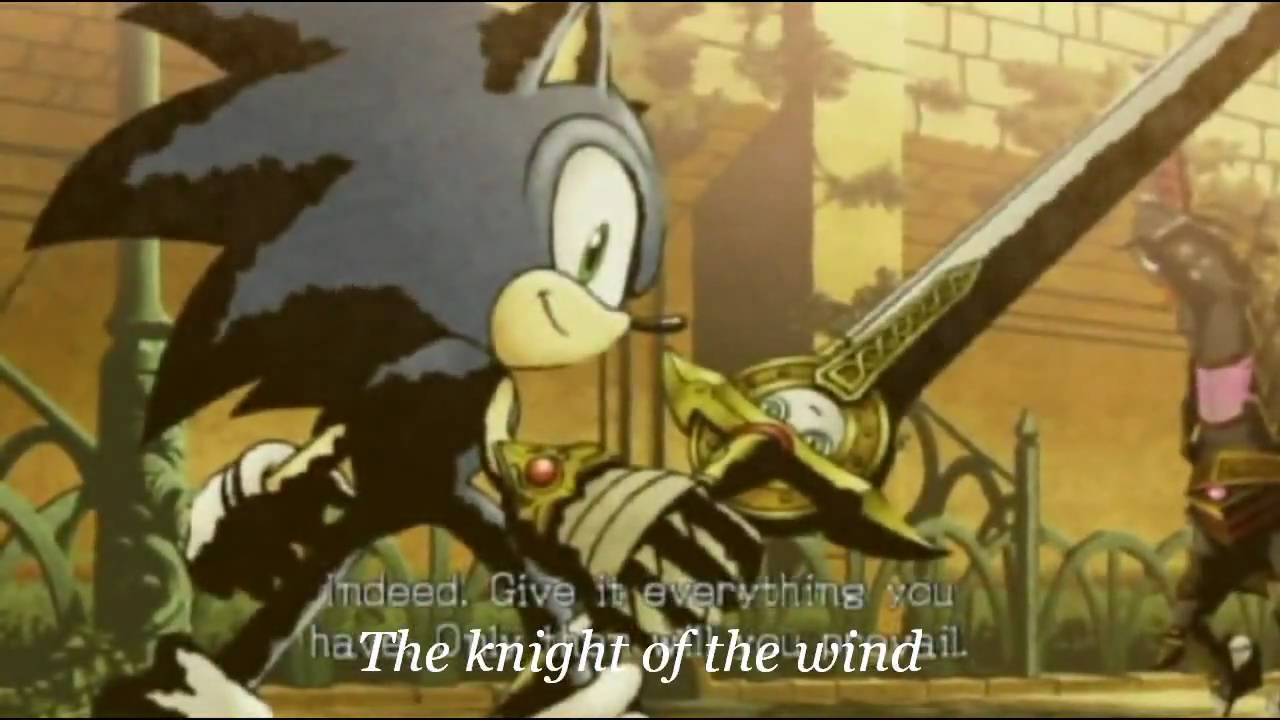 Sonic Knight Of The Wind With Lyrics Youtube