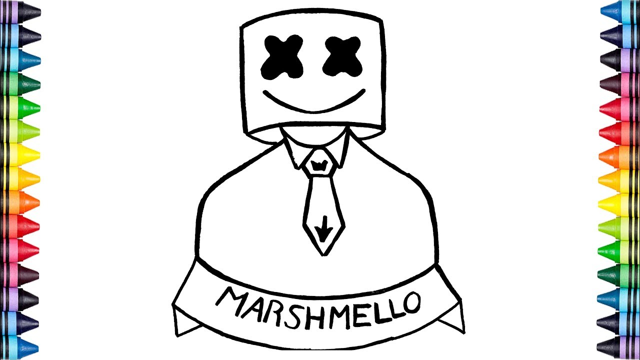 Marshmello Para Colorear Best 25 Marshmello Dj Ideas