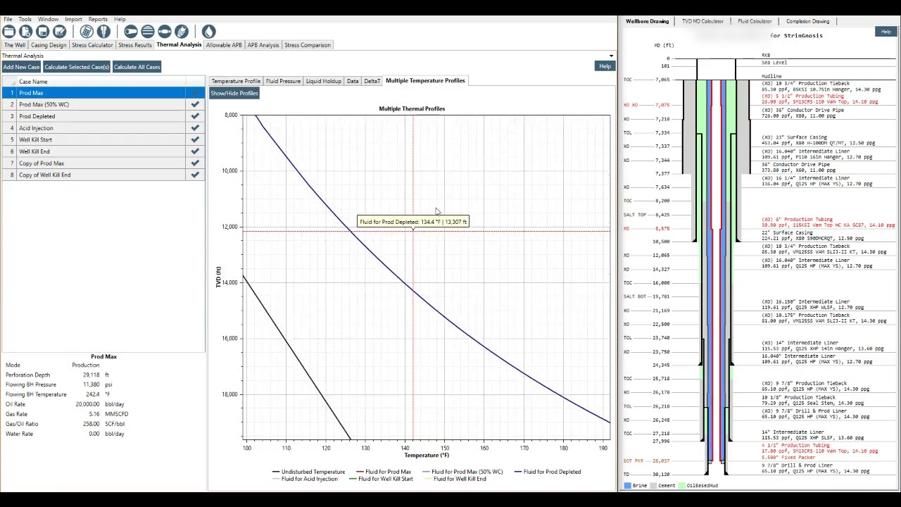 How to Perform Thermal Analysis in StrinGnosis® [Casing Design Software]