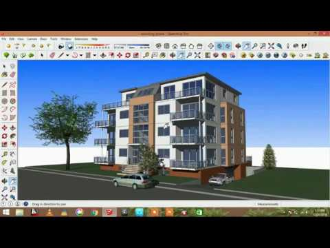How To Export High Quality View From Sketchup Scene Youtube