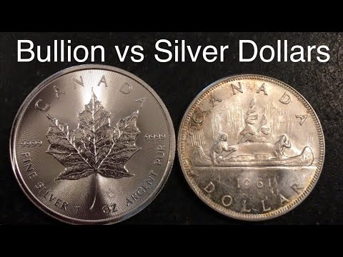 Canadian Maple Leaf Vs Junk Silver Dollar, Which Is Better To Stack?