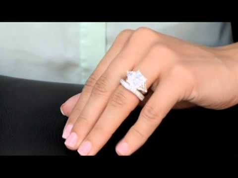 carlottas fake engagement ring sashas cubic zirconia wedding band - Fake Wedding Ring