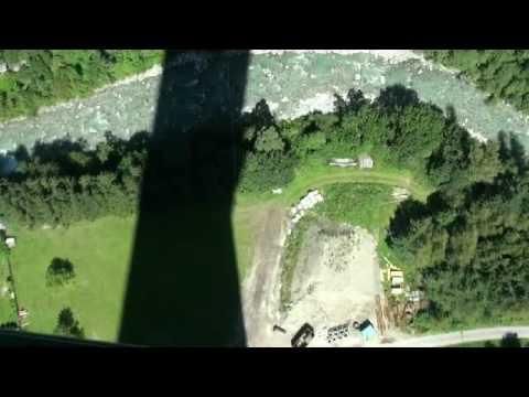 Bungee-jumping Europabrücke 192m Innsbruck, Austria