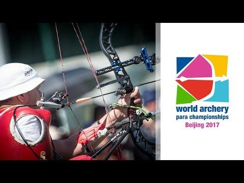 USA v Russia – Compound Men Team Bronze | Beijing 2017 World Archery Para Championships