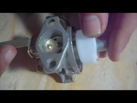 Stop Carb From Leaking & Release Float Needle On A Portable Generator/Small Engine