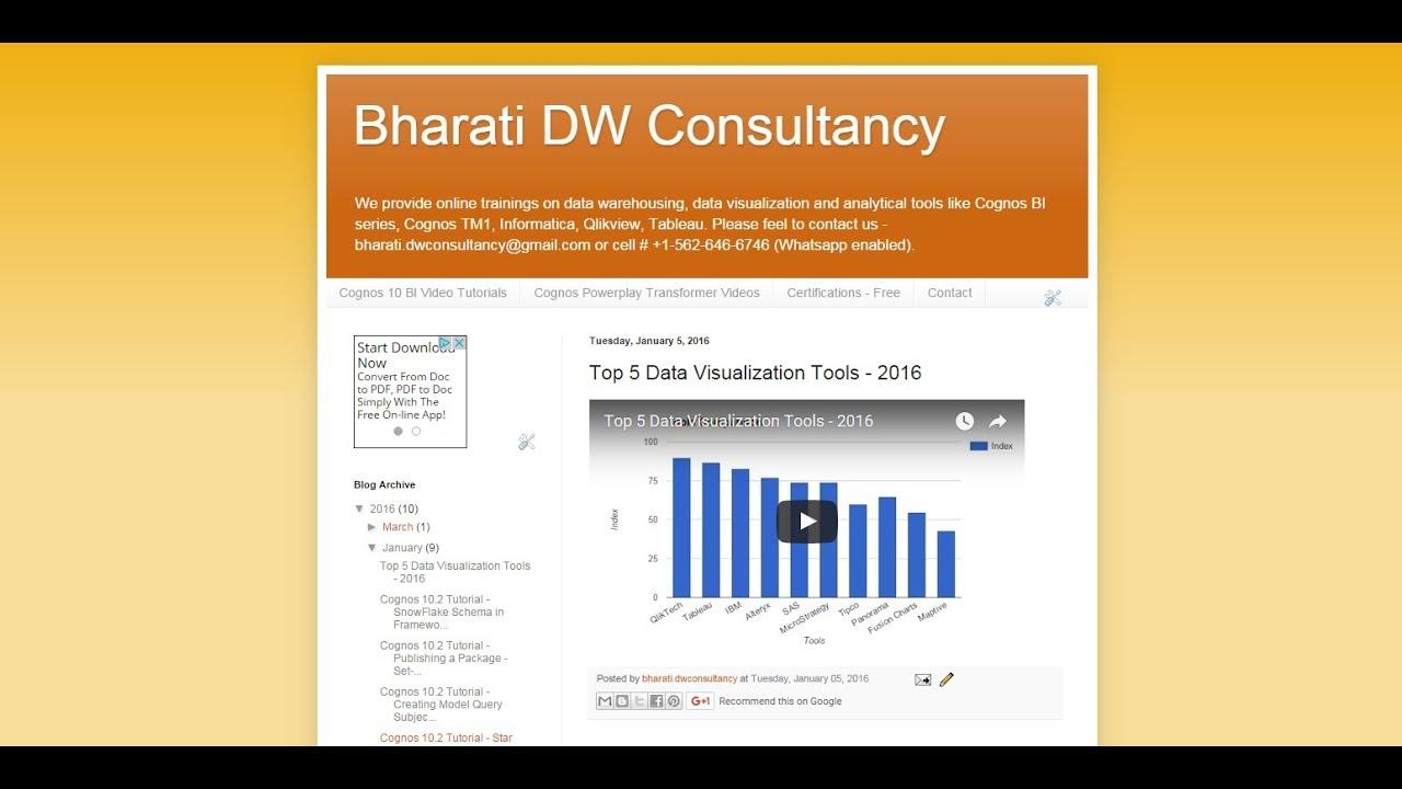 Ibm Cognos Analytics 11 Tutorial Basic Part 1 Of 45 Youtube