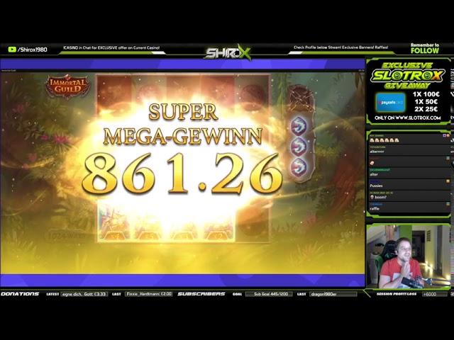 Immortal Guild SUPER MEGA INSANE WIN Push Gaming