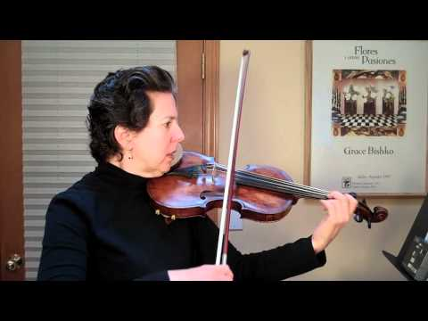 Suzuki Violin - The Two Grenadiers Practice  1 - www.myviolinvideos.com