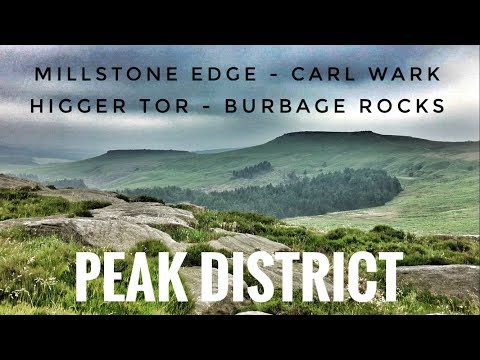 Peak District Walk - Millstone Edge - Carl Wark - Higger Tor - Burbage Rocks