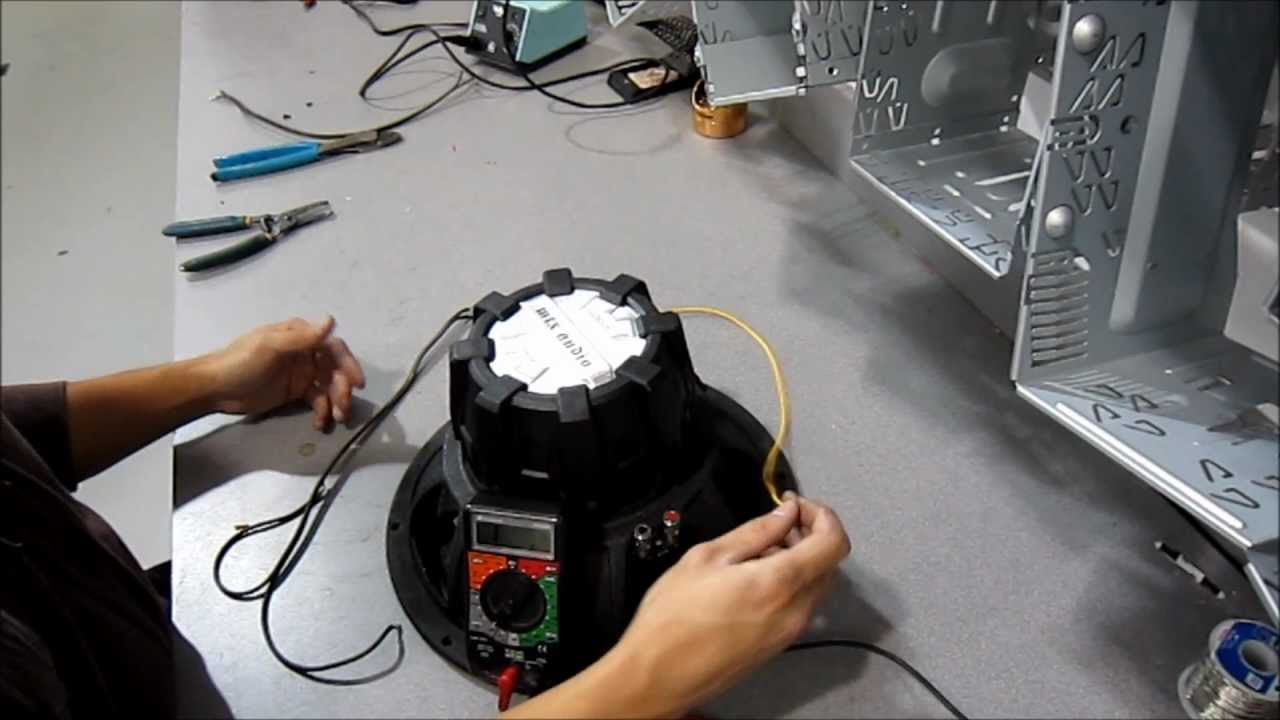 Wiring a Dual Voice Coil/ DVC Sub Woofer (4OHM Voice Coils) - YouTube